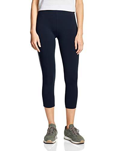 CECIL Damen 372187 Leggings per pack Mehrfarbig (deep blue 20128), W(Herstellergröße:XXL)