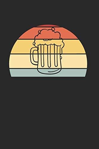 Bier Notizbuch: Bier Notizbuch für Liebhaber / Notizheft / Notizblock A5 (6x9in) Dotted Notebook / Punkteraster / 120 gepunktete Seiten