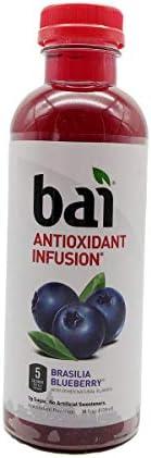 Bai5 Antioxidant Infusions Brasilia Blueberry 18 Fluid Ounce product image