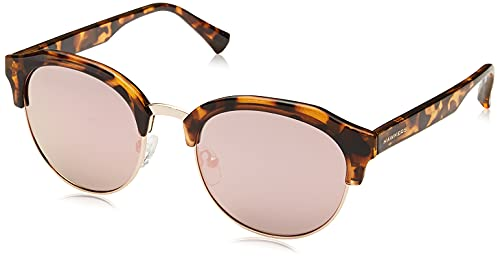 HAWKERS Classic Rounded Gafas de Sol, Carey · Rose Gold, Talla única Unisex Adulto