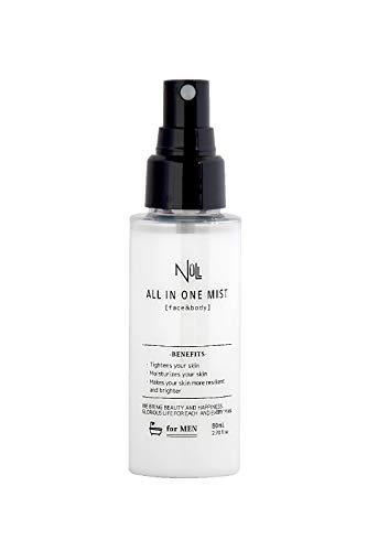 NULL オールインワン 化粧水 メンズ 超時短 スプレー 持ち歩きOK (2-3ヶ月分) アフターシェーブ スキンケア (ヒリヒリしない低刺激)オールインワン化