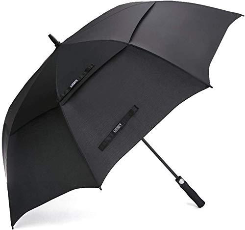 G4Free 55/61/69/72 inch Ombrello da Golf Doppio Baldacchino Antivento Ventilato Extra Large con Apertura Automatica Ombrelli Stick Impermeabili