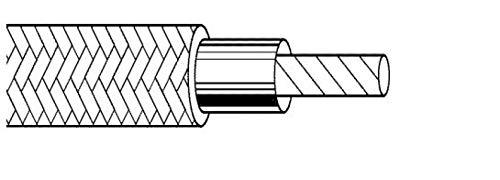 ITC-KABEL 1X1,50 SILIKONGLASFASER SCHWARZ SG-15BIM100 SG-15NEM100