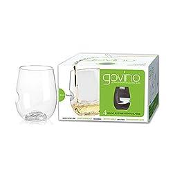 Govino Go Anywhere Wine Glasses (Set of 4)