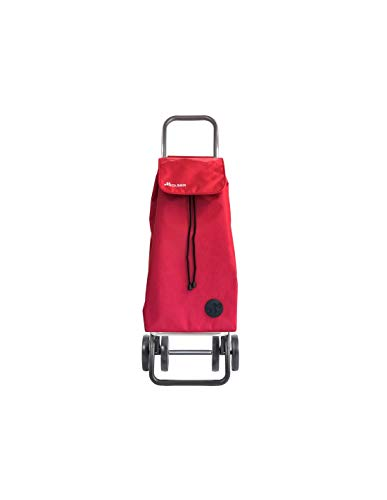 Carro Rolser I-Max Termo Zen 4 Ruedas Plegable - Rojo