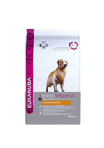 Eukanuba Alimento seco para perros Golden Retriever adultos 2,5 kg