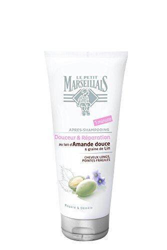 Le Petit Marseillais–después del champú cabello largos Lin–Almendra Dulce–Tubo 200ml–juego de 2
