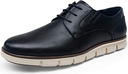 VOSTEY Men's Dress Shoes Black Casual Dress Shoes for Men Oxford Shoes for Men Casual Oxford Sneakers Business Dress Shoes (10.5,Young dress641-black)