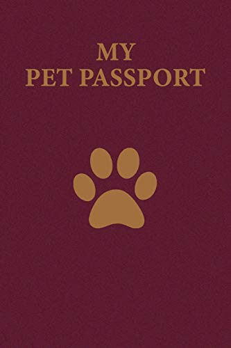 My Pet Passport: Record your pet...
