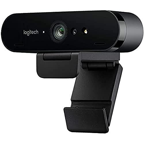 Oferta de Logitech Brio Stream Webcam, Streaming Full HD 1080p/60fps, Edición Streaming, Superrápida, Corrección de Iluminación HD, para Skype/Google Hangouts/FaceTime, Para Gaming, Portátil/PC/Mac, Color Negro