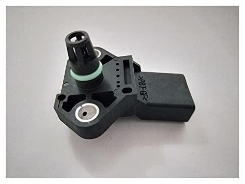 WANGQIANG Sensor de presión Mapa de presión de avión aérea de admisión Sensor de Mapa de presión para Audi V-W Seat Skoda 0281002401 0 281 002 401 038906051C Piezas de automóviles