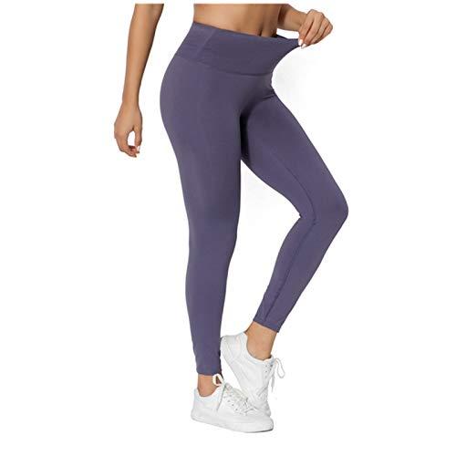 Pantalones de yoga para yoga, pantalones de correr, leggings para mujer, leggings para fitness, gimnasio, entrenamiento, deportes, mujer (color: C, tamaño: grande)