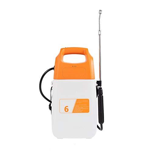 HGWDE Verter fácil Césped eléctrica y Bomba for el jardín pulverizador a presión for herbicidas, Fertilizantes, Productos de Limpieza Suaves y lejía, Incluye Correa for el Hombro