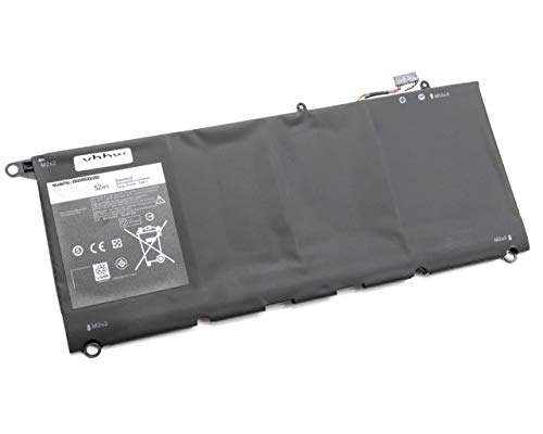 vhbw Battery replacement for Dell 0N7T6, 5K9CP, 90V7W, CN-0N7T6, DIN02, JD25G, RWT1R, 0DRRP, JHXPY for Laptop (7000mAh, 7.4V, Li-Ion)