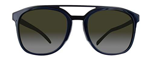 DIOR BLACKTIE221FS SSEEJ 55 Dior Sonnenbrille BLACKTIE221FS SSEEJ 55 Wayfarer Sonnenbrille 55, Blau