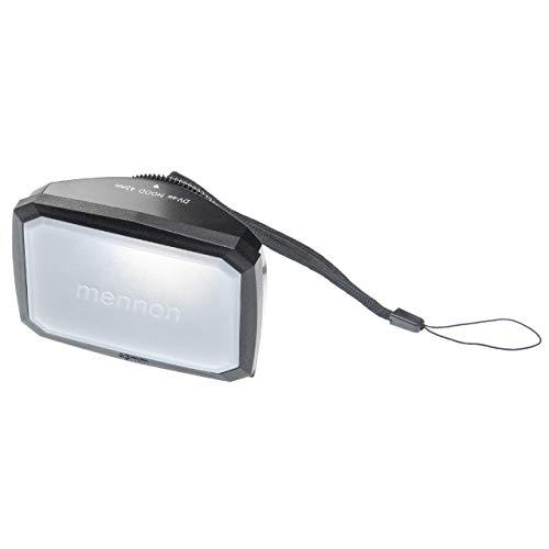 vhbw Capucha Lente con Tapa Balance de Blancos para cámaras con 43mm de Rosca, Formato 16:9 - Cámaras de Sistema, DSLM, DSLR, cámaras de vídeo