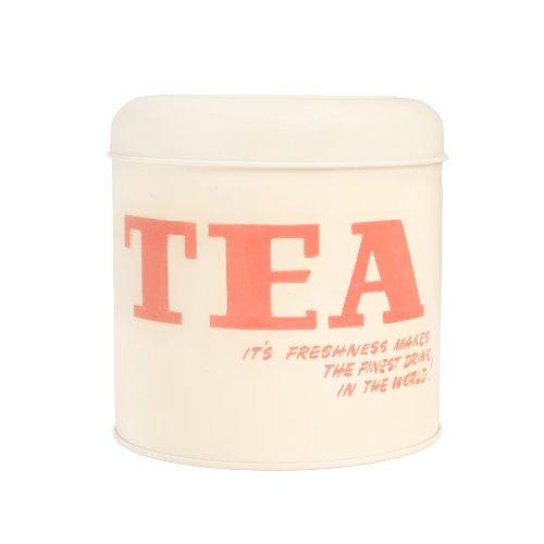 Vintage By Hemingway Boîte à thé métallique Tea Multicolore