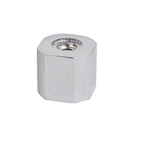 sourcingmap 28mmx25mm Zinklegierung Wasserhahn Griff Knopf Einhebelgriffknopf Silberton DE de