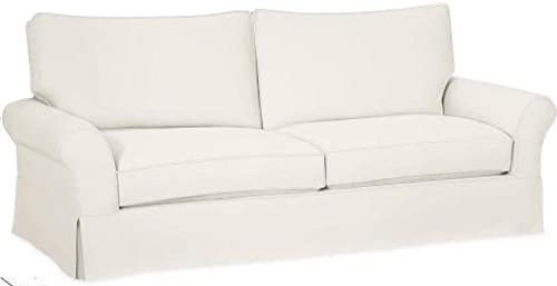 Best The Cotton Sofa Cover Only Fits Pottery Barn PB Comfort Grand Roll Arm Sofa. A Durable Sofa Slipcove