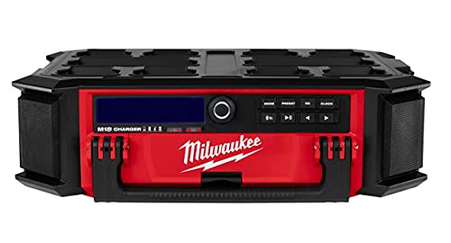 Milwaukee M18PRCDAB+0 18v Packout DAB Radio Charger Body Only