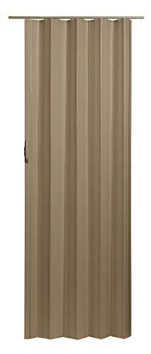 LTL Home Products SI3680TB Sienna Interior Accordion Folding Door, 36 x 80, Timber Beige