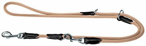 HUNTER Freestyle Verstellbare Führleine für Hunde, robust, wetterfest, 1,0/200 cm, beige