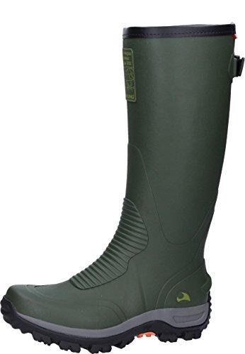 Royal Copenhagen Elk Hunter 4.0, Stivali di Gomma Unisex-Adulto, Verde (Green/Black 402), 43 EU