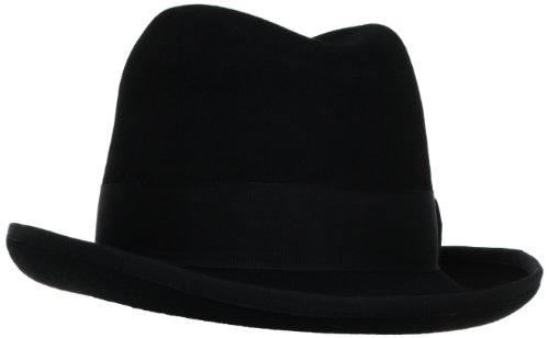 Stacy Adams Men's Homburg, Black, XX-Large