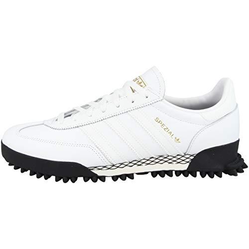 adidas Zapatillas bajas de balonmano para hombre Spezial TR, color Blanco, talla 42 EU