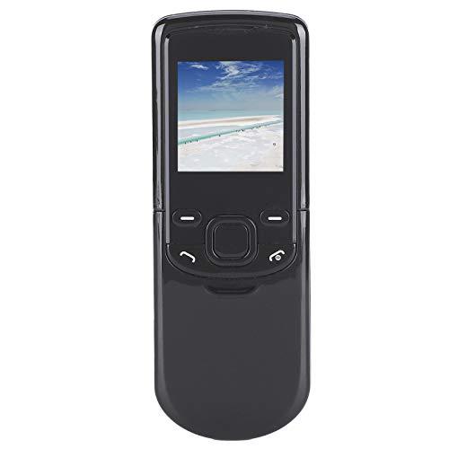 Archuu M8810 Teléfono móvil para Personas Mayores, 1,44 Pulgadas, Varios Idiomas, Mini teléfono móvil, Botones Rectos Grandes, teléfono con Funciones para Personas Mayores, 700 mAh (Negro)