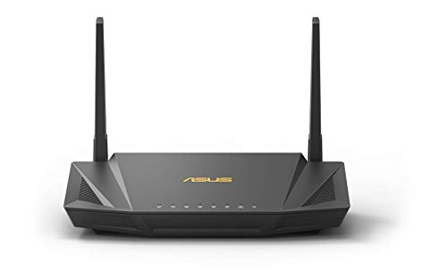 Asus RT-AX56U Home Office Router (Ai Mesh WLAN System, WiFi 6 AX1800, Gigabit LAN, AiProtection, USB 3.0, VPN, PPTP, OpenVPN)