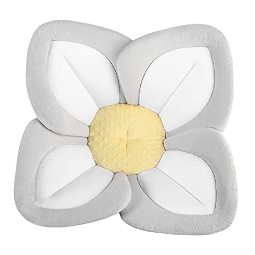 Blooming Bath Lotus - Baby Bath (Gray/Light Yellow)