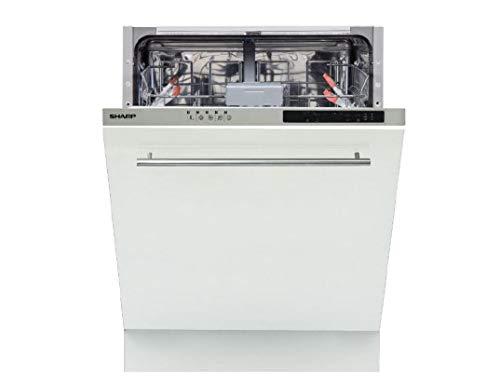 SHARP - Lave vaisselle tout integrable 60 cm SHARP QWNI14I47EX - QWNI14I47EX