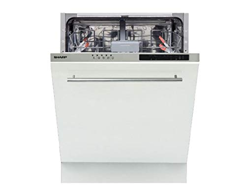 SHARP - Lave vaisselle tout integrable 60 cm SHARP...