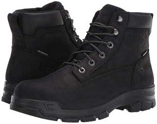 [ウルヴァリン] メンズ 男性用 シューズ 靴 ブーツ 安全靴 ワーカーブーツ Chainhand Steel Toe WP - Black [並行輸入品]