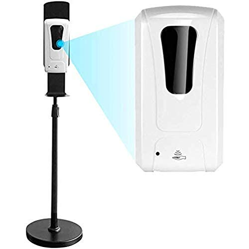 BCXGS Portátil Dispensador De Desinfectante con Soporte De Suelo, Dispensador de Gel Desinfectante para Comercios y Oficinas