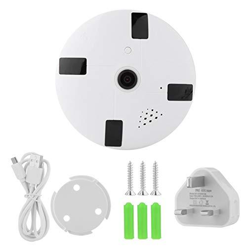 Pwshymi Audio de cámara IP doméstica para Seguridad en Interiores(100-240V British Standard)