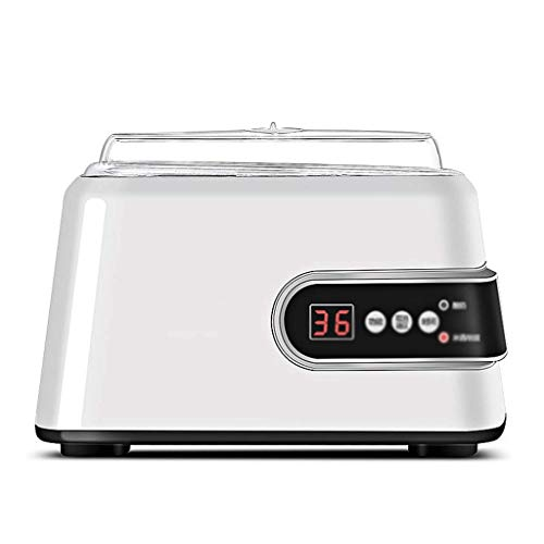 STRAW Yogur Machine-Automatic Yogurt Maker Machine Tarros Personalizar Durable, Peso Ligero