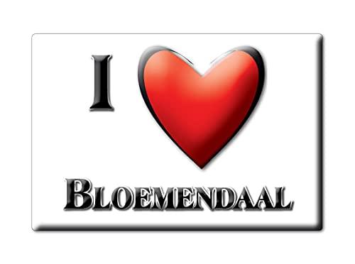 BLOEMENDAAL (G) FRIDGE MAGNET NETHERLANDS NOORD HOLLAND SOUVENIR I LOVE GIFT PRESENT