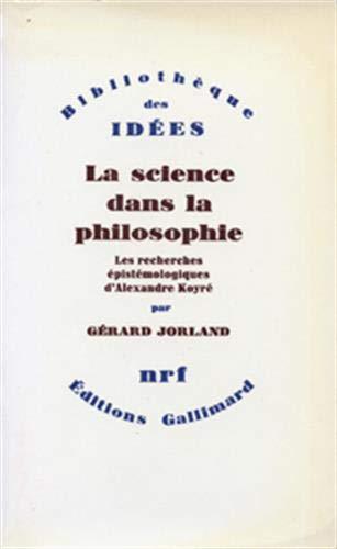 La Science dans la philosophie