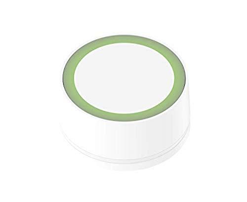 myStrom WiFi Button, Smart Button, 3 Druckmuster & Touch, für Smart Home-Geräte von myStrom, Hue und SONOS, unzählige Apps und Dienste via IFTTT