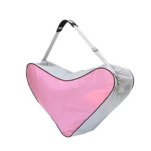 Garneck EIS Skate Tasche Dreieck Rollschuh Tasche Inline Skate Tasche Träger Beutel für Kinder Erwachsene