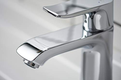 Hansgrohe – Einhebel-Waschtischmischer, Ablaufgarnitur, ComfortZone 110, Chrom, Serie Metris - 3