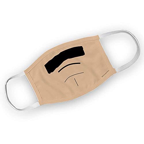 South Park Randy Marsh Mustache Washable Face Mask (Asian Skin Tone)