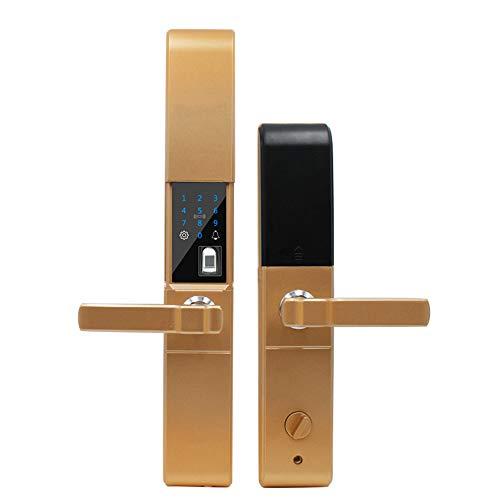 Ajac vingerafdrukvergrendeling, elektronisch, digitaal, biometrisch, wachtwoord-toetsenbord, intelligente vergrendeling met USB-oplaadpoort, verschillende ontgrendelingsvormen