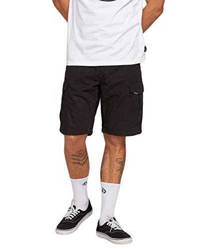 Volcom Herren Miter ll Shorts-Cargo, Black, 32