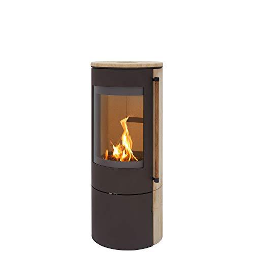 H&M Germany Kaminofen EVO 2.1 Sandstein Braun Ofen Heizofen Holzofen Kamin 7kw