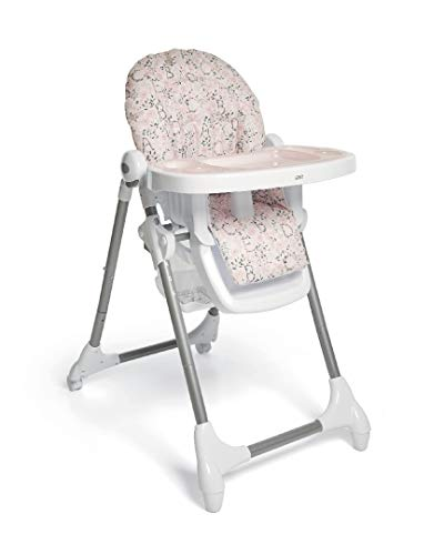 Mamas and Papas Snax Adjustable Highchair with Removable Tray Insert - Alphabet Floral