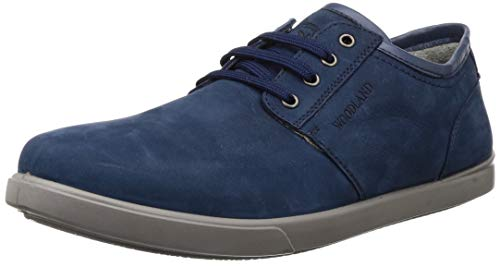 Woodland Men's OGC 3301119_Droyal Blue_10 Leather Clogs-10 UK (44 EU) (11 US) 3301119DROYAL