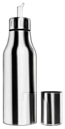 El aceite puede olivar o vinagre anti-fuga, Dispensador de aceite de botella de aceite Acero inoxidable Cocina de cocina de aceite de oliva grande para aceite, coloulador, vinagre, salsa de soja